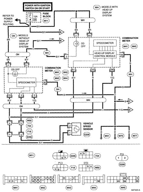 1998 nissan frontier light wiring diagram nissan