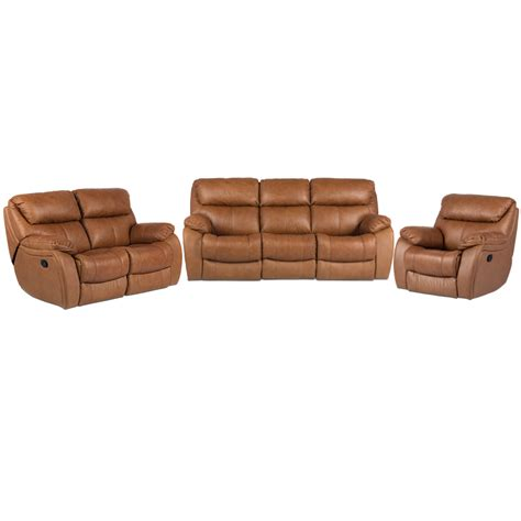 Leather Recliner Set by Leather Recliner Sofa Set Coffee Price 2247 16