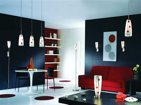 red black white home decor home design gold contemporary red black and white living