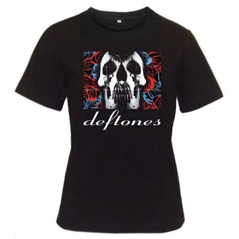 T Shirt Deftones Black Pafd new deftones rock band album logo s black t shirt size s to 2xl ebay