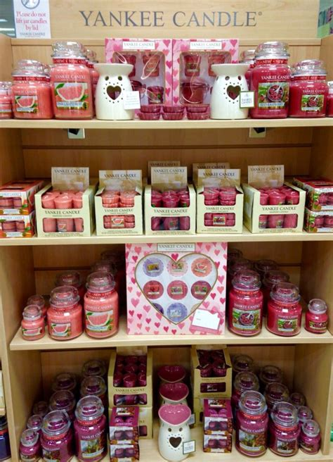 Candle Display by Valentines Yankee Candle Display Beales Keighley
