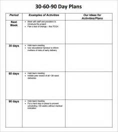 best photos of 90 day work plan template 30 60 90 day