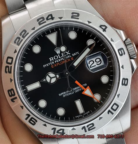 Rolex Oyster Ds 035 Black Steel rolex explorer ii 42mm orange black 216570 new