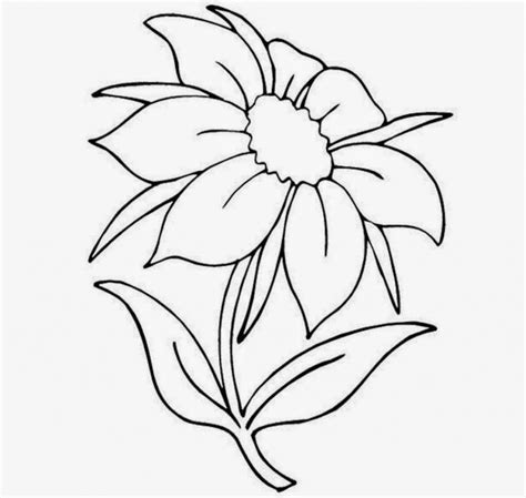 Easy To Draw Flowers by Pretty Flowers To Draw Pencil Drawing