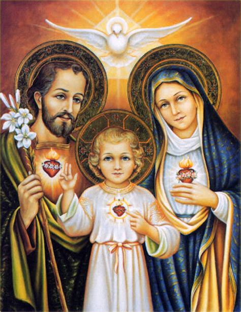 imagenes de dios jesus y maria our lord jesus christ hc holyfamily1