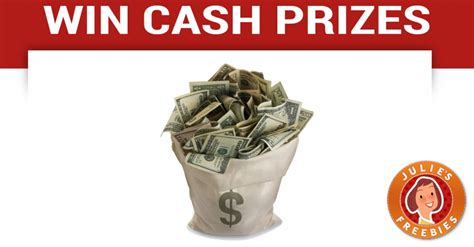 Enter To Win Money Sweepstakes - enter to win a cash prize julie s freebies