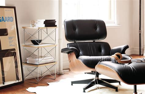 eames lounge ottoman eames 174 lounge chair and ottoman design within reach