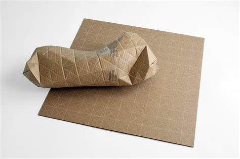 1 Parcel Tipe D Food ingenious cardboard packaging folds to fit parcels of any