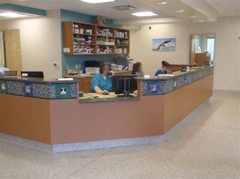Veterinary Reception Desks Chris A Cline Millwork