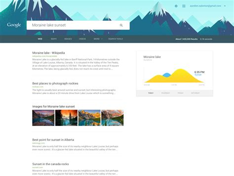 design inspiration search engine this is how unbelievably gorgeous google com would look