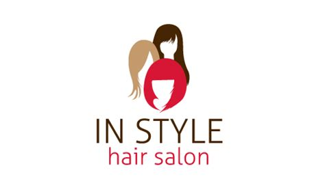 salon tarpaulin layout free hair salon logo design make hair salon logos in minutes