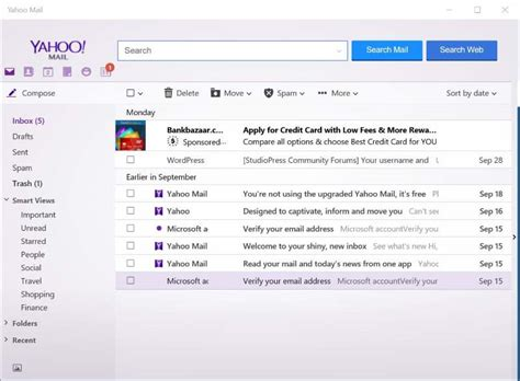 yahoo email disappeared yahoo mail app for windows 10 8