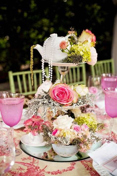Tea Themed Bridal Shower by Ly Tea Bridal Shower Vintage Lace Pastels Hostess With The Mostess 174
