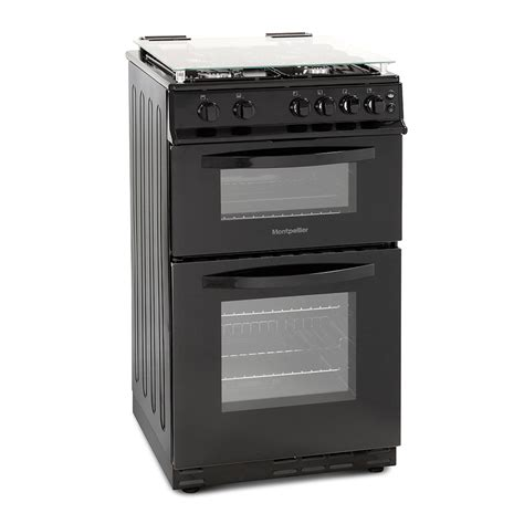 Oven Gas 1 Pintu montpellier msg50w single cavity gas cooker