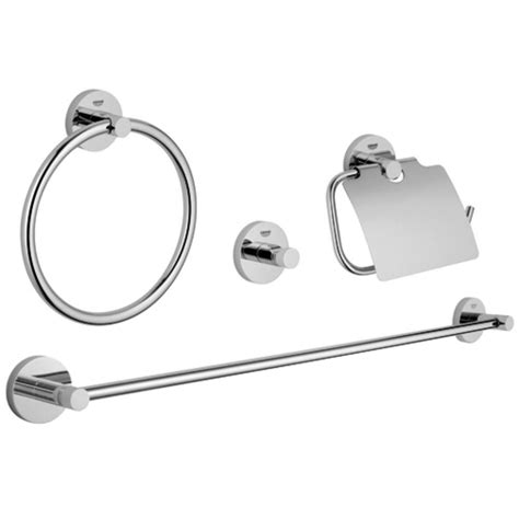 grove bathroom fittings grohe essentials master bathroom 4 piece bath hardware set