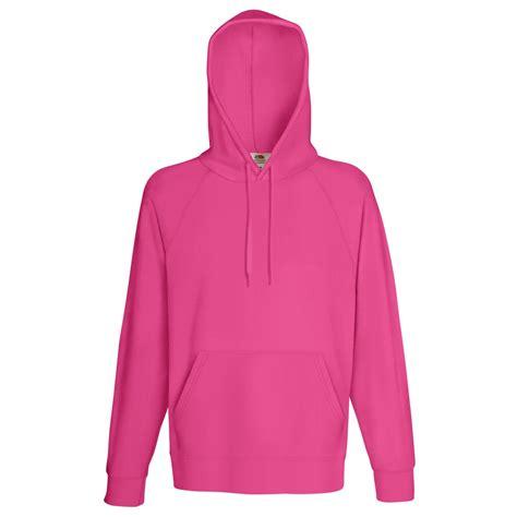 Mens Light Hoodie by Fruit Of The Loom Mens Lightweight Hooded Sweatshirt