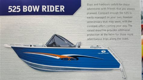 bowrider boats for sale western australia new trailcraft 525 bowrider power boats boats online