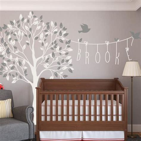 nursery tree wall decals childrens and wall stickers nursery wall vinyls by
