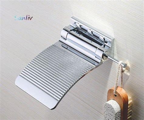 chrome shower fold  shaving footrest  shaving ledge