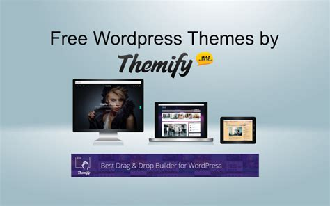 wordpress themes builder free free wordpress themes with drag and drop page builder by
