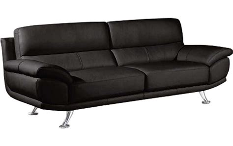 Black Leather Sofa For Sale by Sale Armani Large 3 Seater Black Leather Sofa Sofas