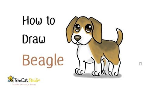 how to a beagle how to draw a beagle draw animal