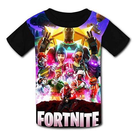 camisetas de fortnite al mejor estilo de las skins