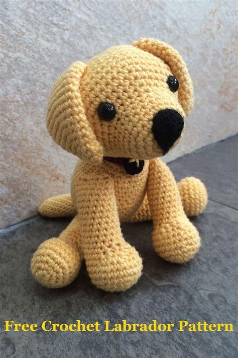 crochet puppy crochet labrador how to make your own the labrador site