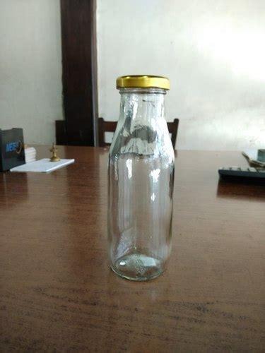 transparent 300ml glass bottle rs 18 a s b