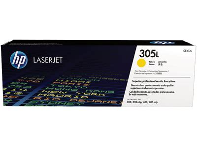 Hp 305l Yellow Economy Toner Cartridge Ce412l By Office