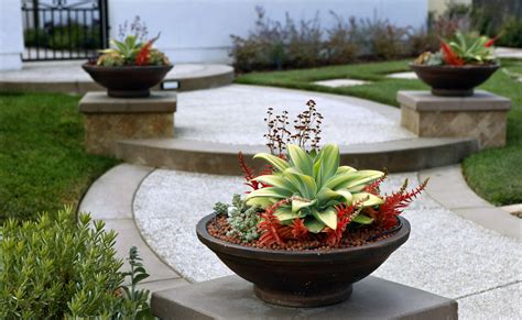 Front Yard Planter Ideas by Container Garden Design Ideas Diy Herb Container Garden