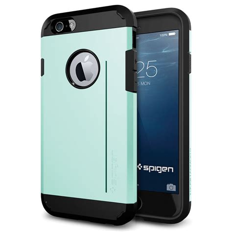 h iphone 6 spigen tough armor s for iphone 6 6s mint sgp11042 b h