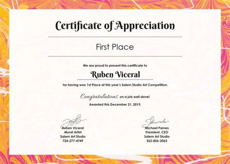 Certification Of Appreciation Templates by 27 Certificate Of Appreciation Templates Pdf Doc