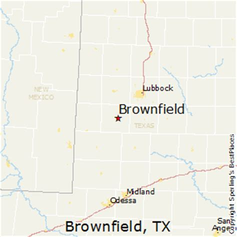 brownfield texas map best places to live in brownfield texas
