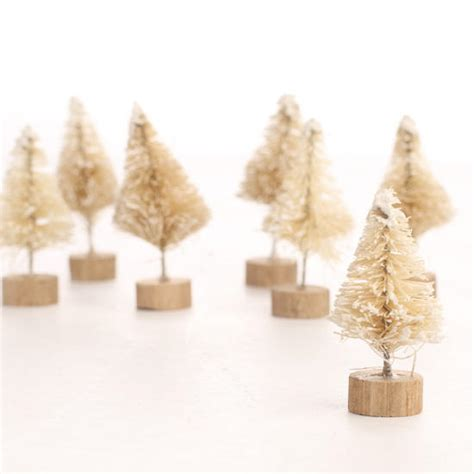 bulk frosted white sisal trees christmas and winter sale
