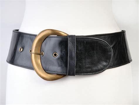 jocasi moon belt black leather hip belt plus sizes