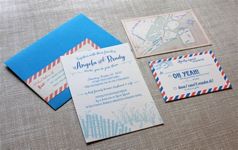dunes wedding invitation scotti cline designs