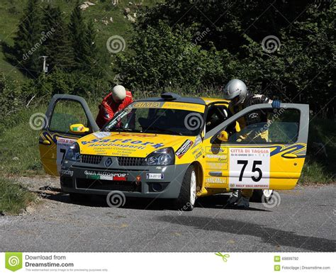 renault rally renault clio rally car editorial image cartoondealer com