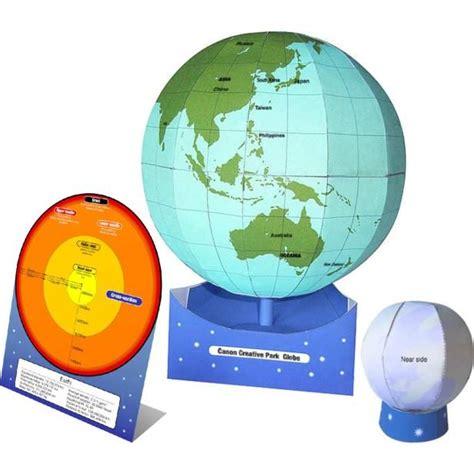 Papercraft Globe - 1000 ideas about globe crafts on snow globe