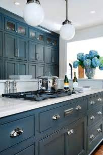 Kitchen Cabinets Blue Best 25 Blue Kitchen Cabinets Ideas On Blue Cabinets Navy Kitchen Cabinets And