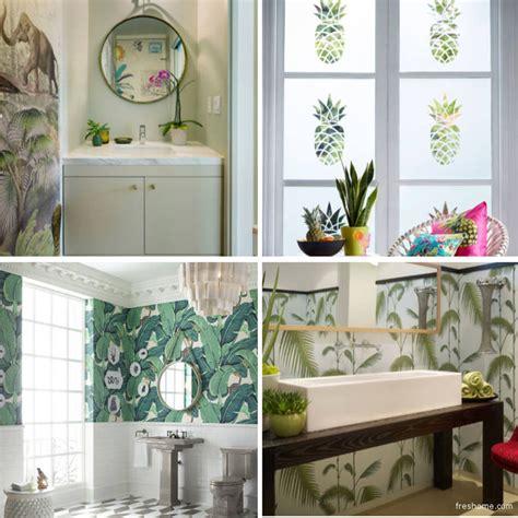 window decor powder room interiors tropical bath decorating ideas features tropical