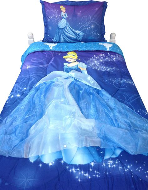 Cinderella Bedding Set Disney Cinderella Twin Comforter Set Night Sparkles