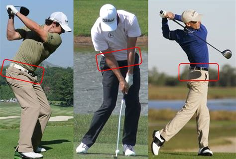 hips in golf swing it hinges on the hips