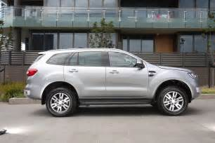 Ford Everest 2017 Ford Everest Trend Rwd Review Caradvice