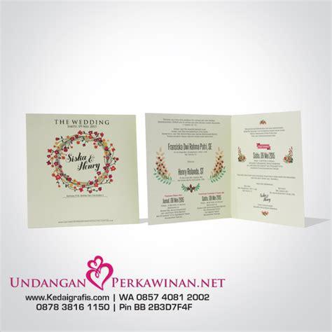 desain kartu undangan pdf contoh desain kartu undangan pernikahan murah online
