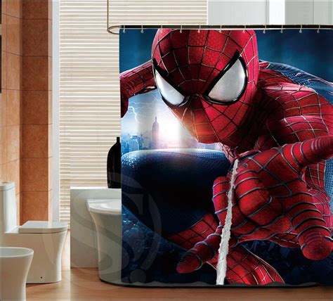spiderman drapes online buy wholesale spiderman curtains from china