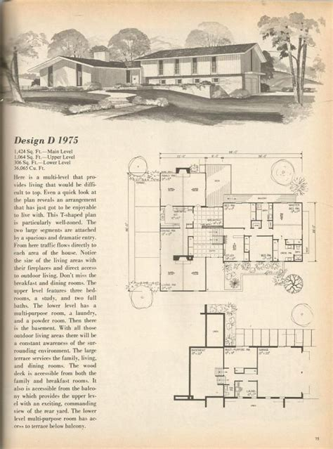 1970s ranch house plans 1970s ranch house plans mibhouse com