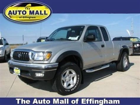 toyota 2004 for sale 2004 toyota tacoma prerunner for sale autos post