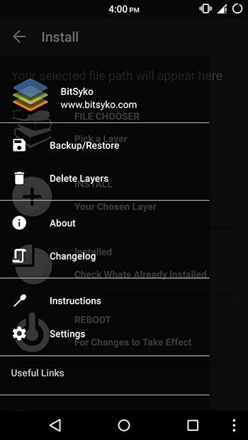 layers android enjoy beautiful themes on your android using layers manager droidviews