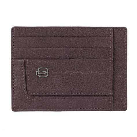 piquadro porta carte di credito pp2762vi tm porta carte di credito piquadro in pelle vibe